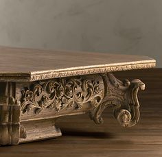 Coffee table for the salon. Restoration Hardware on sale for $1185