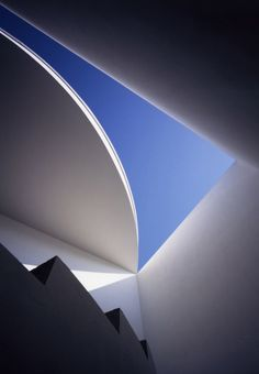 the love house ceiling consists of a hole in the center providing views of the sky.