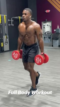 Gym Workouts For Men, Gym Workout For Beginners, Gym Workout Tips, Workout Videos, Beast Workout, Full Body Dumbbell Workout, Biceps Workout, Fitness Goals, Fitness Tips