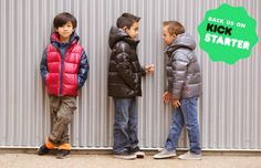 2b23b908b554 One Kid is raising funds for ROAD COAT™ Car Seat Safe Outerwear with  Performance & Style! THE ROAD COAT™ is the ONLY coat you need! It replaces  your current ...