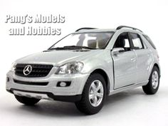 Mercedes-Benz ML-350 1/36 Scale Diecast Metal Model by Kinsmart