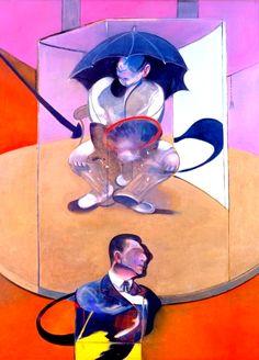 "translucentmind: "" Seated Figure // Francis Bacon """