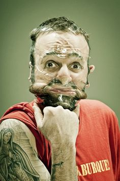 Scotch Tape Faces by Wes Naman 08