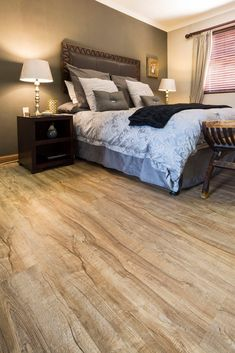 Project – Supreme House OL | Finfloor Laminate Flooring, Home Projects, House, Bed, Furniture, Home Decor, Parquetry, Floating Floor, Stream Bed