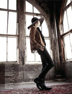 """Rock Baby Rock"" : Amica February 2013"