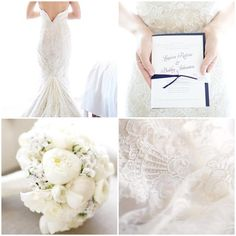 Moodboard Monday: All White Wedding