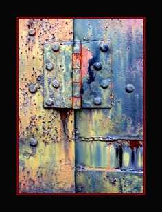 Hinge Thank God I have a lot of old hinges! RP by Linda Hammerschmid