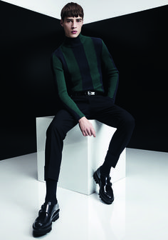 Adrien Sahores Models Strong Suiting & Outerwear for Z Zegna Fall/Winter 2014 image zzegna004