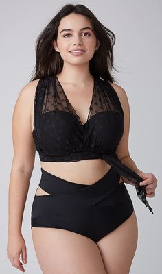 74dcf197dd Plus Size Bikini Swimsuit Curvy Women Fashion
