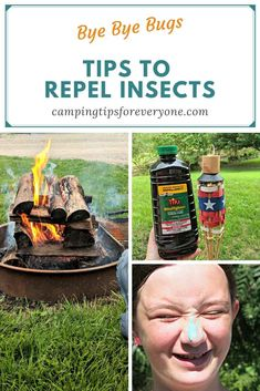 4 Ways to Banish Bugs at Your Campsite Rv Camping Tips, Camping For Beginners, Kayak Camping, Hiking Tips, Campsite, Camping Hammock, Rv Tips, Camping Stuff, Hiking Gear