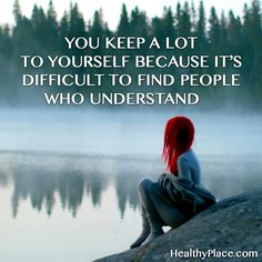 Quote on mental health stigma  (healthyplace.com)