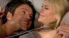 #Days of our Lives Wednesday - 04/17/13 EJ and Sami reflect together in the afterglow after making love for the first time as a ENGAGED couple! #EJami