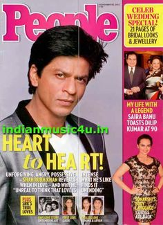 Shah Rukh Khan on the cover of People magazine