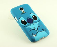 for Samsung Galaxy SIV S 4 S4 Mini I9190 cute Stitch Hard Back case cover Pouch