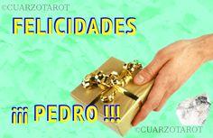FELICIDADES PEDRO  https://www.cuarzotarot.es/  #FelizLunes #Pedro #Pablo