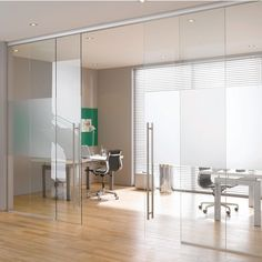 Able to reduce noise, the Structure Glass Solutions Covert Series Soft Close Sliding Door System for Double Doors is ideal for office fronts, conference rooms, kitchen, bedroom or bathroom entrances, and more. Measuring 288'' long, the sliding door kit holds the glass panels through high weight capacity pressure clamps, with no glass drillings, and features hydraulic soft-close mechanisms.