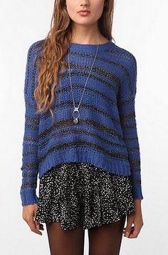 Sparkle & Fade Lurex Pullover