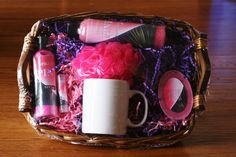 Mojave Pink Large Soap Gift Basket