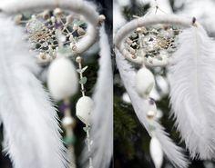 White sweet morning dreamcatcher