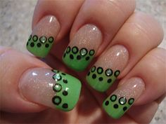 Best Green Nail Art Designs Ideas 2013 2014 4 Best Green Nail Art Designs & Ideas 2013/ 2014