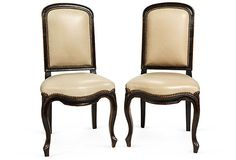 Louis XV-Style Side Chairs, Pair on OneKingsLane.com