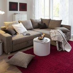 Fresh Dennis Schlafsofa Ecksofa und Sofa mit Chaiselongue von Milano Bedding bei Sofas in Motion Cool bed sofas Pinterest