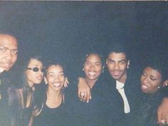 Timbaland, Aaliyah, Ginuwine & Missy. Soul Train Awards, 1997✨