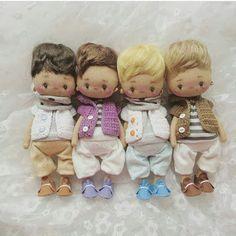 Mimin Dolls: meninos de Victoria Veselova