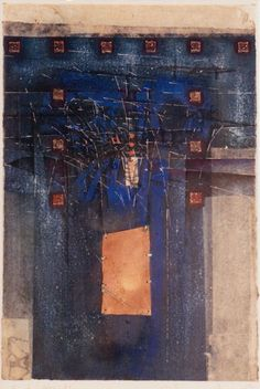 D-5.Nov.1993 43.2x29.3cm Mixed media 林孝彦 HAYASHI Takahiko 1993