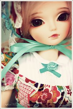 Lovely doll.