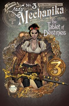 Couverture de Lady Mechanika: The Tablet of Destinies (2015) -3A- Chapter Three