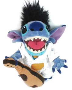 "http://Amazon.com: Disney Lilo & Stitch 7"" Elvis Stitch Plush: Toys & Games"