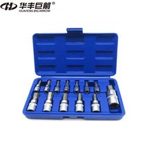 "US $20.69 HUAFENG BIG ARROW 13PC Hex Bit Socket Set 3/8"" 1/4"" 1/2"" Car Repair Tool Ratchet Wrench Set Cr-v Hand Tools Combination Bit Set. Aliexpress product"