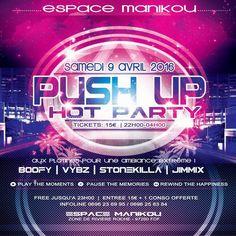 Push Up Hot Party Vous aussi intégrez vos événements dans l'Agenda des Sorties de www.bellemartinique.com C'est GRATUIT !  #martinique #Antilles #domtom #outremer #concert #agenda #sortie #soiree