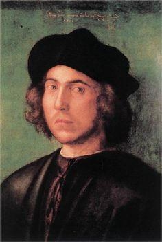 Portrait of a Young Man, 1506  Albrecht Durer