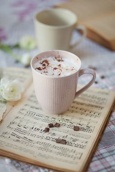 Coffee and Music notes!