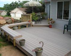 small wooden decks | Wood Decks: Pictures Small Wooden Decks