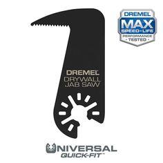 Dremel Multi-Max Oscillating Tool Drywall Jab Saw Blade