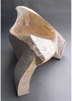 Spalted beech sculpture by Simon Gaiger