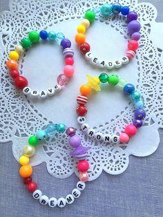 NO More Christmas Orders Word bracelet, dreamer bracelet, word jewelry, kids bracelet. (ONE) bracele Pony Bead Bracelets, Candy Bracelet, Kids Bracelets, Pony Beads, Bracelet Set, Little Girl Jewelry, Kids Jewelry, Jewelry Findings, Beaded Jewelry