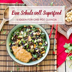 Für faule Fitness-Foodies! 5 mal One Pot Quinoa