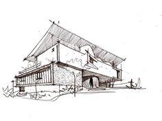 Architect's House,Sketch