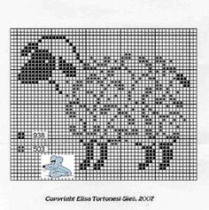 free sheep cross stitch pattern Gallery.ru / Фото #6 - Sheeps - Labadee