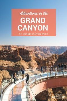 Exciting adventures at Grand Canyon West in Arizona! Test your fear of heights at the daring Skywalk, zip lining, horseback riding, hiking and more! Alaska Travel, Travel Usa, Japan Travel, Grand Canyon West, Beautiful Places In America, Camping In Maine, Weekend Hiking, Us Road Trip, Travel Inspiration