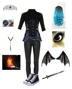 """Random Creepypasta Character #20"" by ender1027 ❤ liked on Polyvore featuring Haider Ackermann and Epoque"