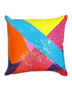 Fractal Sequin Nico Pillow by Jonathan Adler at Neiman Marcus Last Call.