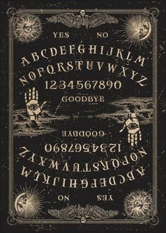 Spirit Board Trinket Dish Mystic Pagan OUIJA board Gothic Jewellery Box