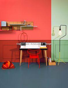 color blocked walls:  Alessandro Rizzi // Eva Virginio // CA