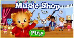 Daniel Tiger's Neighborhood MUSIC SHOP - Fun Video Games for Kids