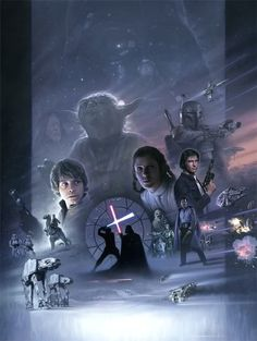 Classic Star Wars. I love this poster.